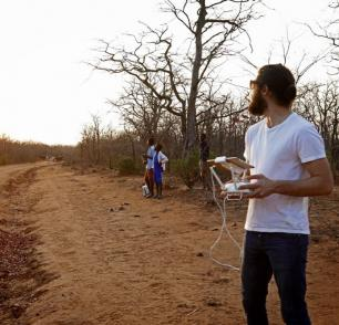 Africa drone google earth investigative journalism