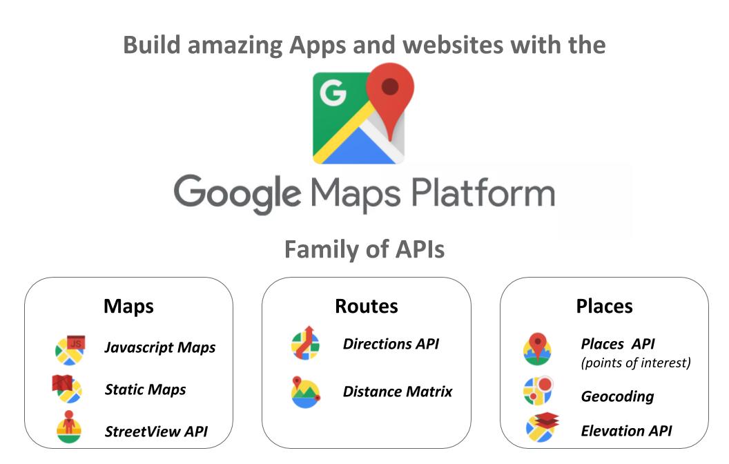 Google Maps Platform Thermopylae Sciences Technology