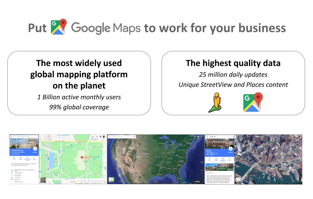 Google Maps Platform | Thermopylae Sciences + Technology